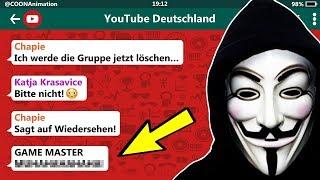 ER IST WIEDER DA! 😱 | YouTuber in einer WhatsApp Gruppe