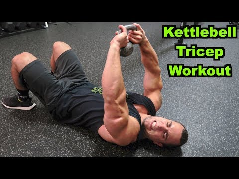 Intense 5 Minute Kettlebell Tricep Workout