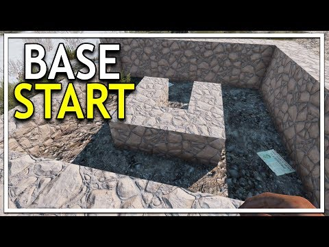 Starting our CUSTOM BASE! (7 Days to Die Alpha 17 Gameplay EP 10)