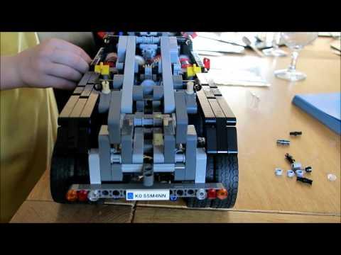 Building the Technics Mercedes-Benz Arocs 3245