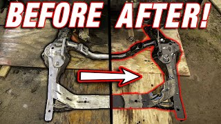 Professionally Painting ANY Car Frame For UNDER $100!