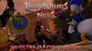 Kingdom Hearts 3 News & Info Livestream Discussion