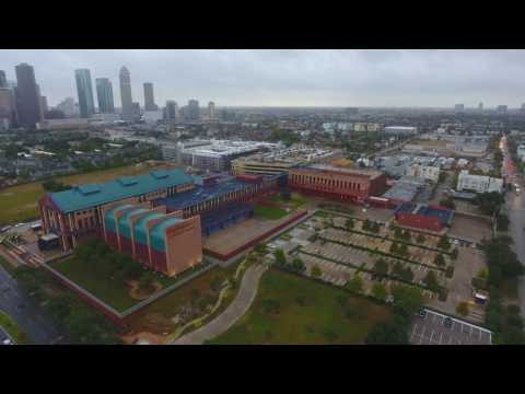 Federal Reserve Bank Houston - Aerial Footage