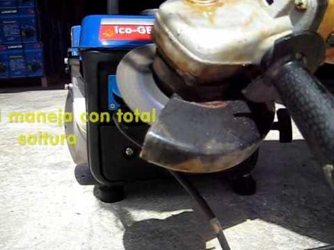 Generador el ctrico de gasolina ico ge lt950 catalizado - Generador de gasolina ...
