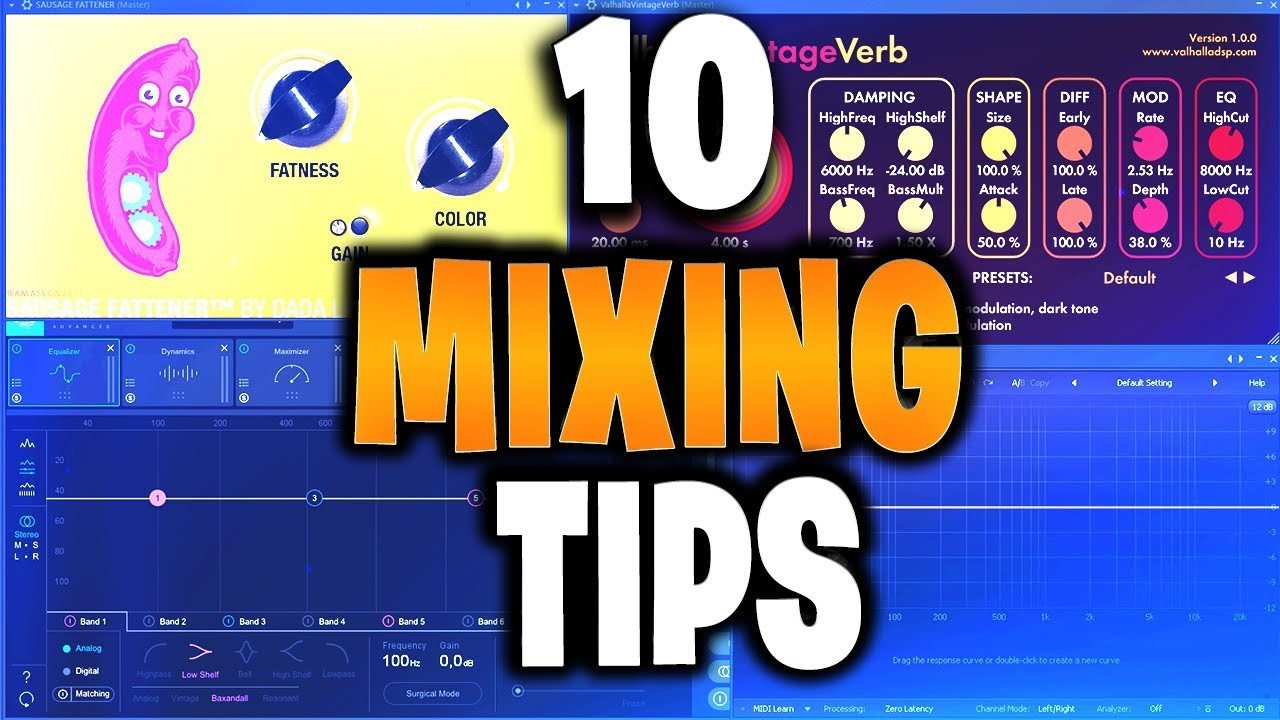 10 Tips To Take Your Mixing From BASIC To BOSS