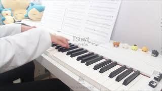 Gambar cover Taeyeon テヨン - Stay | Piano Cover ピアノ