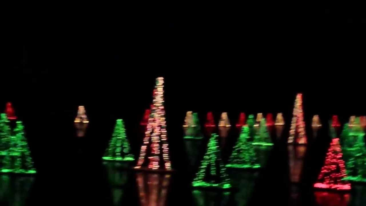 Old Historic Smithville NJ Village Christmas Light Show - YouTube