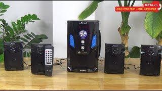 Loa vi tính Microtek MT-665BT 4.1 kết nối bluetooth, công suất 70W