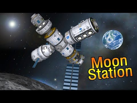 NASA's Deep Space Gateway & SLS Rocket - Kerbal Space Program