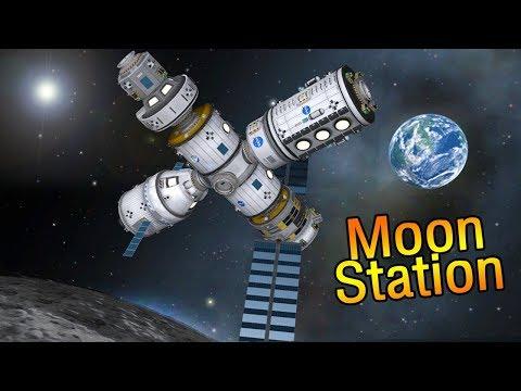 NASA's Deep Space Gateway & SLS Rocket - Kerbal Space Program