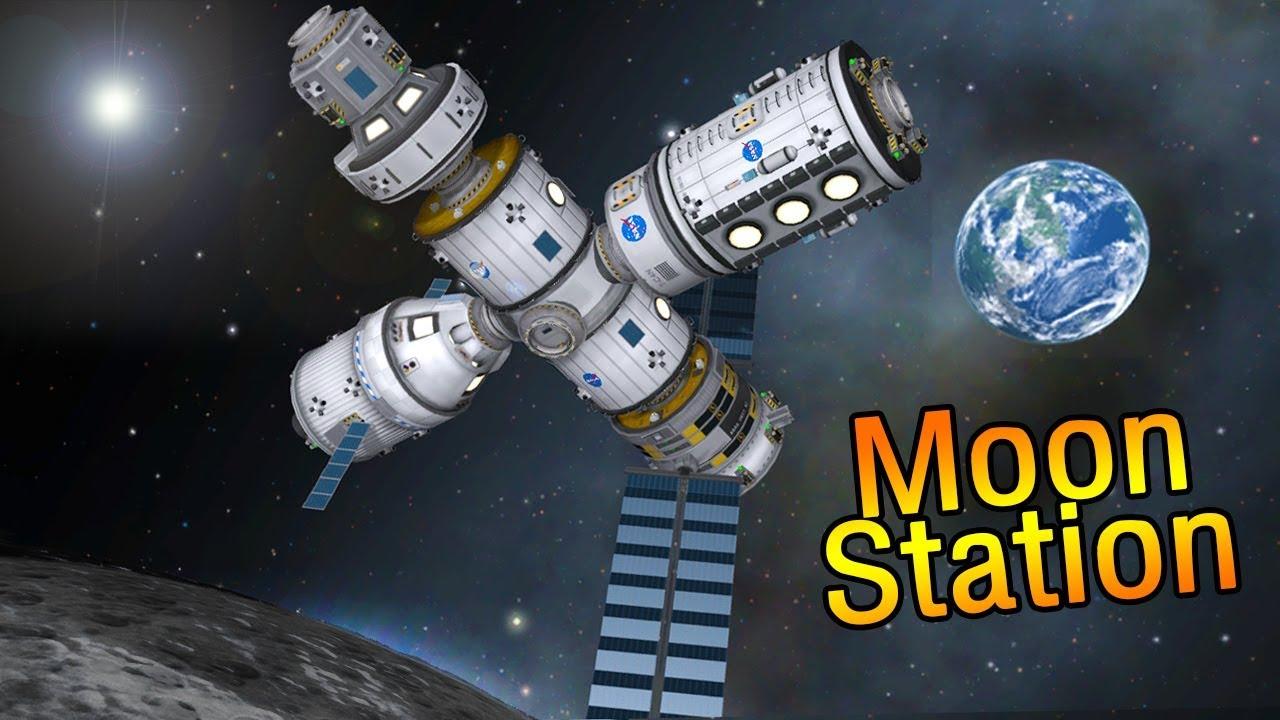 Deep Space Gateway >> Nasa S Deep Space Gateway Sls Rocket Kerbal Space Program Youtube