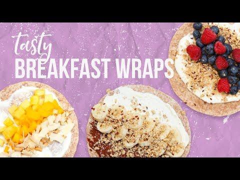 5 Tasty Breakfast Wraps | Back-to-School 2017