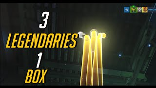 3 LEGENDARIES 1 LOOT BOX!!