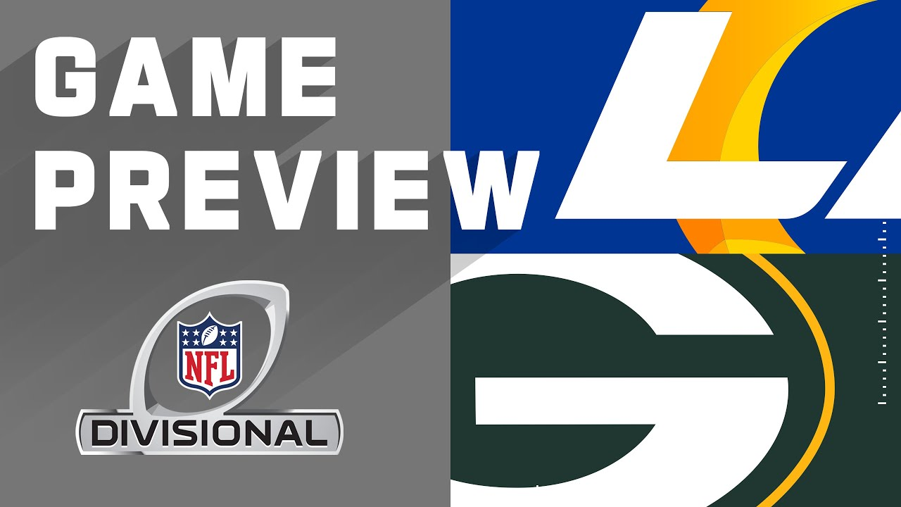 Los Angeles Rams vs. Green Bay Packers | Divisional Round Preview - YouTube