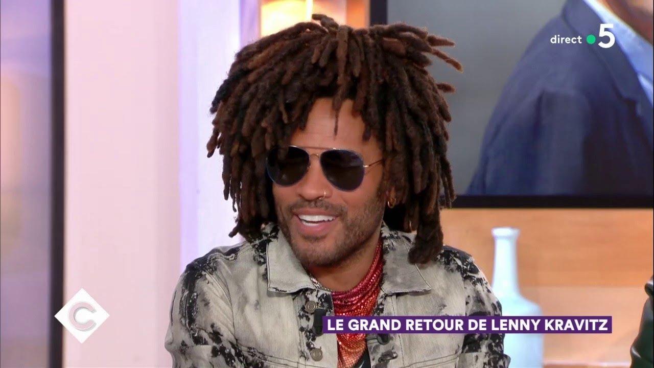 Lenny Kravitz : invité exceptionnel ! - C à Vous - 11/09/2018