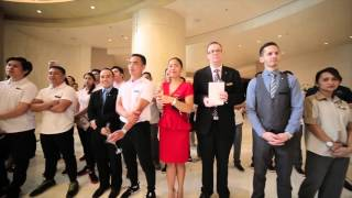 shangri la at the fort manila s internal blessing ceremony on march 1