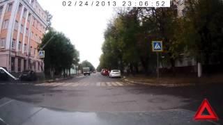 Тверь. ДТП с маршруткой на улице Бебеля