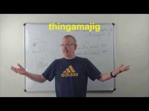 Learn English: Daily Easy English 0836: thingamajig