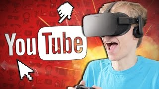 YOUTUBE IN VIRTUAL REALITY! | Internet Surfer VR (Oculus Rift CV1)