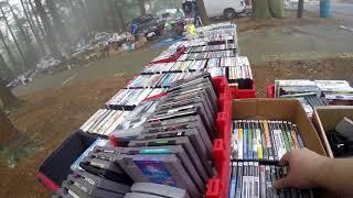 Live Retro Video Game Hunting Episode #43 Flea Market Finds..... Never Give Up