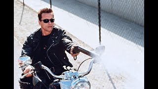 Terminator 2: Bike Chase 4K Remastered 2017 / 3D