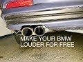 Make Your Bmw E46 Louder For Free   Butterfly Mod