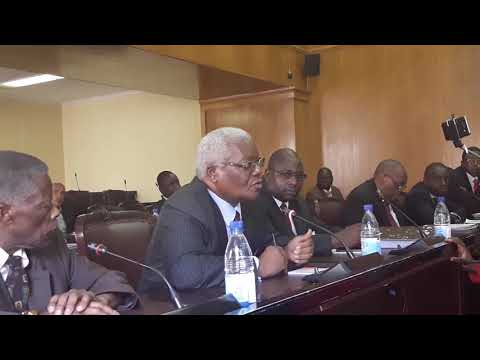 Chombo appearing before the committee on Mines and Energy