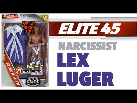 WWE FIGURE INSIDER: Narcissist Lex Luger  - WWE Elite Series 45 WWE Toy Wrestling Action Figure