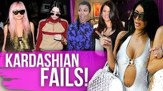 8 BIGGEST Kardashian Fails! (Dirty Laundry)