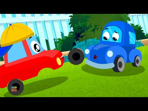 It's Fun To Be Kind | Little Red Car Cartoons | Videos for Children