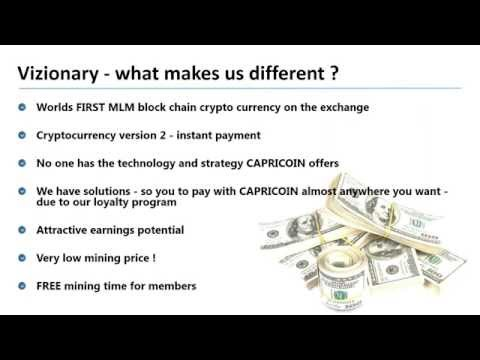 Crypto-Currency Bitcoin Alternative Overview w/ Vizionary's