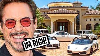 Robert Downey Jr Is Richer Than You Think...