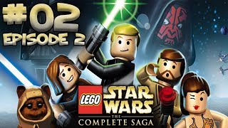 LEGO STAR WARS THE COMPLETE SAGA GAMEPLAY EPISODE 2 LIVESTREAM PART 2 DEUTSCH