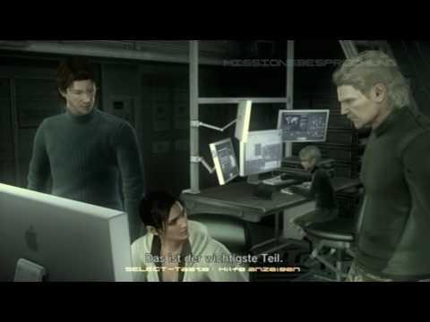 """Metal Gear Solid 4 HD Story 18/49 """"Solid Sun"""" - Deutsch"""