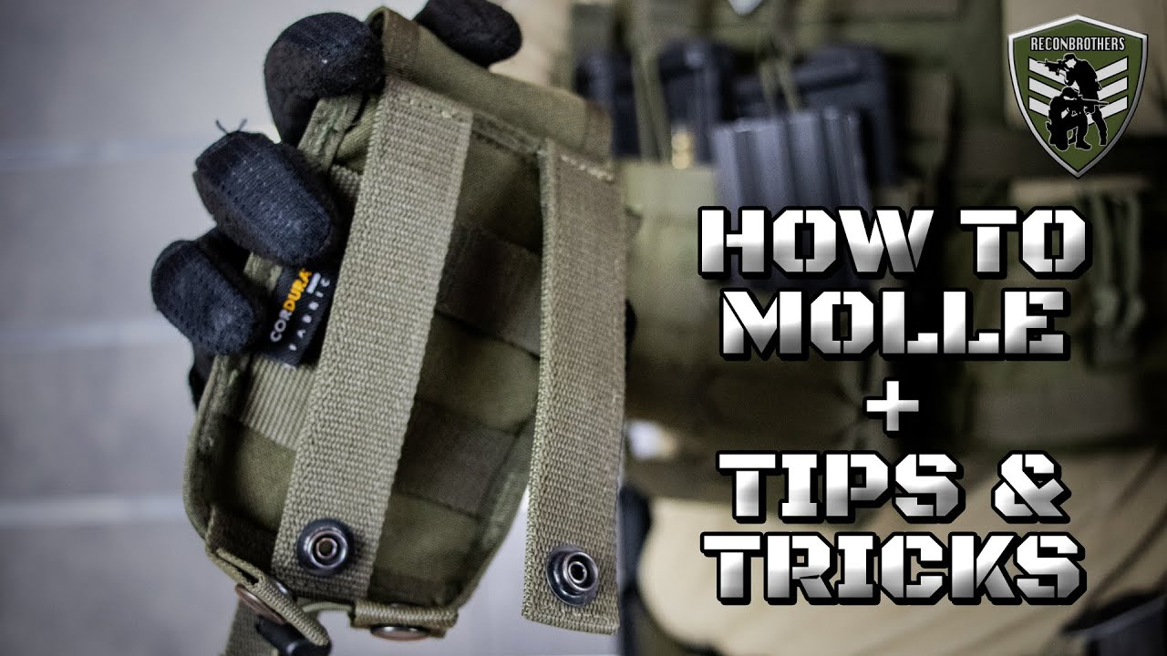 Download How to MOLLE + Tips & Tricks for Military & Airsoft