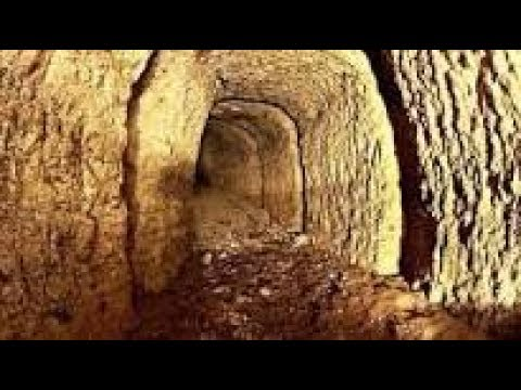 hidden network of WWI tunnels that have been buried for decades