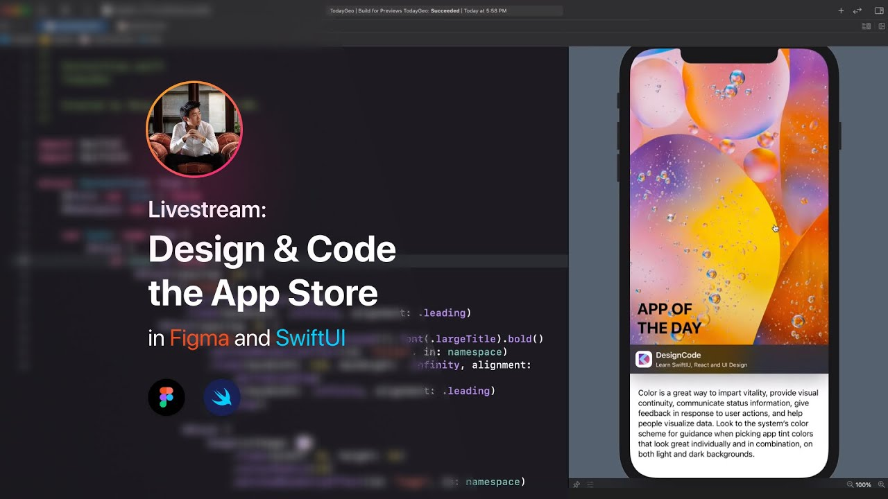 Design and Code the App Store Today in Figma and SwiftUI