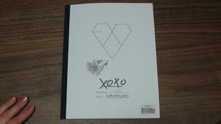 Unboxing EXO 엑소 1st Korean Studio Album XOXO (Kiss Version)