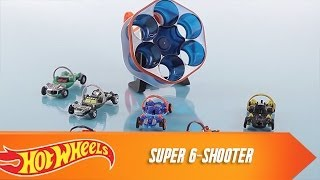 Ballistiks Super 6-Shooter by Hot Wheels   OFFICIAL Product Demo   @Hot Wheels