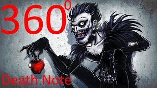 "VR 360 Ужасы ""Тетрадь Смерти"" Death Note"