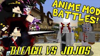 SHINIGAMI CAPTAIN VS THE WORLD! || Minecraft Anime Mod Battles 5 (Bleach Mod vs Jojos Mod)