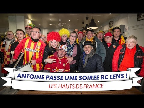 Antoine de Caunes au coeur du RC LENS !
