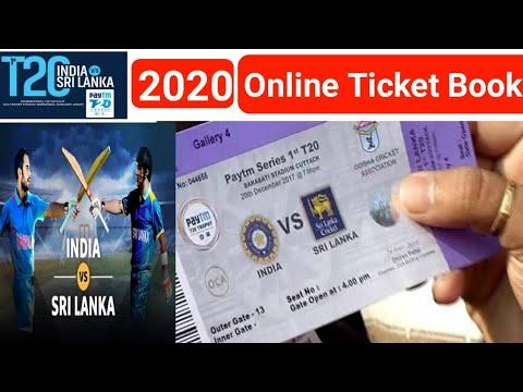 T20 2020 Online Ticket Book Kaise Kare I India Vs Sri Lanka Online Ticket BookMyShow