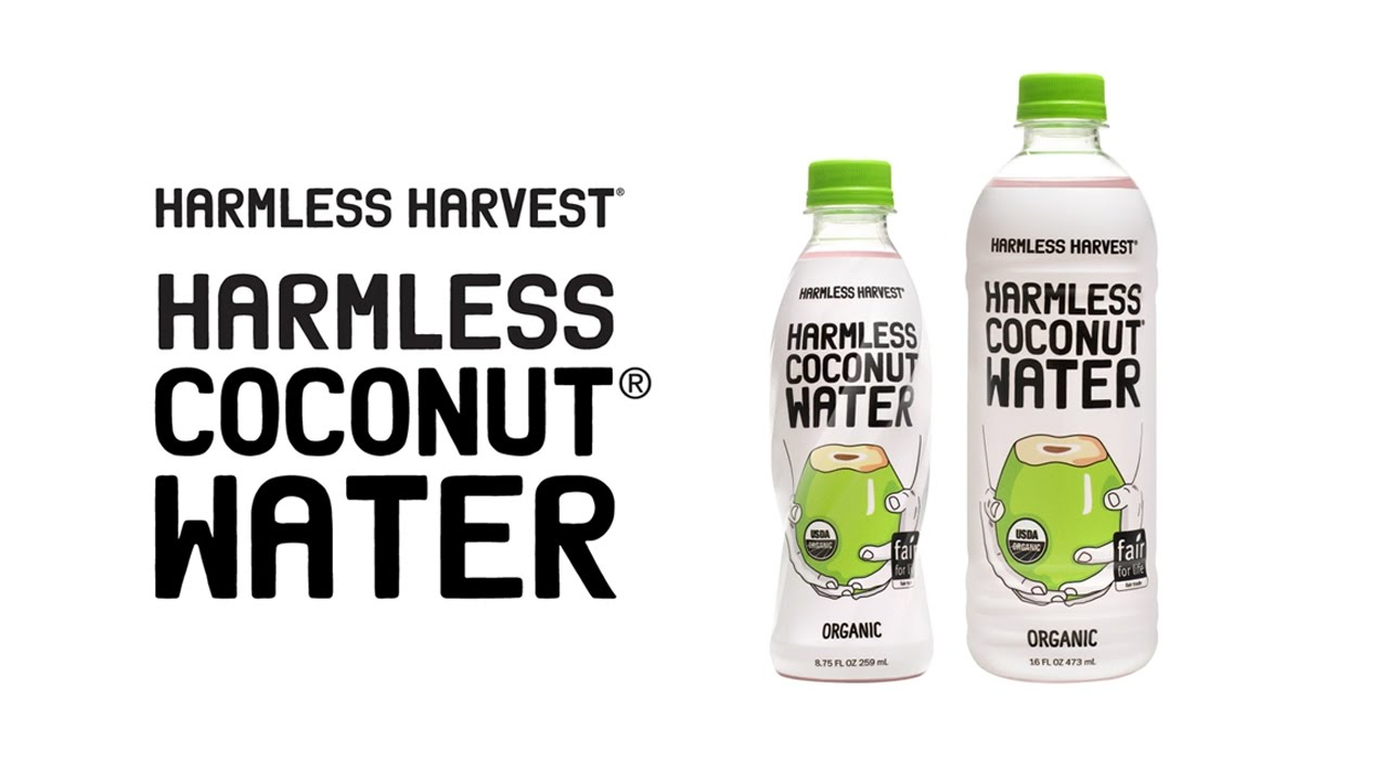 Harmless Harvest Coconut Water - YouTube