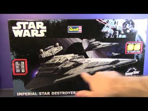 *ForceBuilders* Revell 1/4000 Imperial Star Destroyer - Part 1