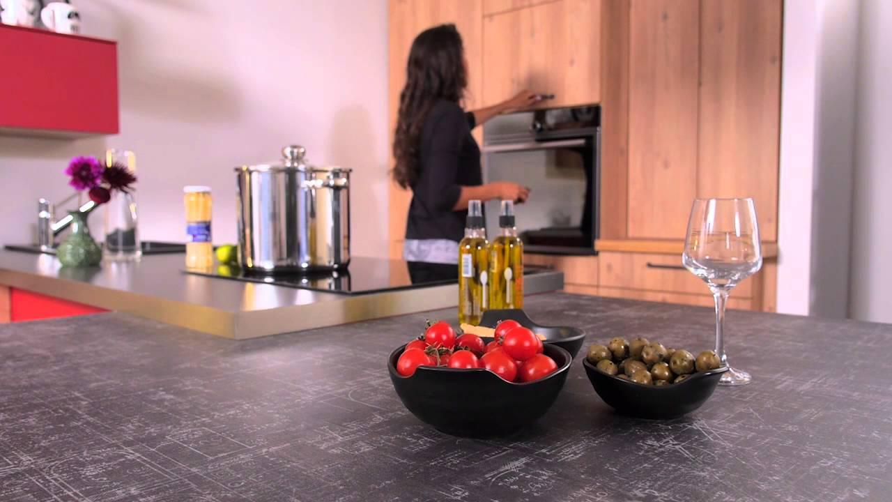 cuisine trend cuisinella youtube. Black Bedroom Furniture Sets. Home Design Ideas