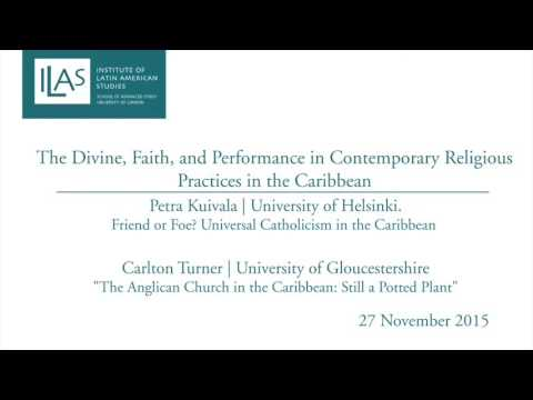 The Divine, Faith, and Performance in Contemporary Religious Practices in the Caribbean