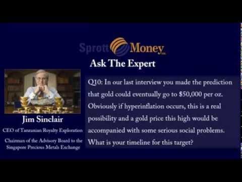 Ask The Expert   Jim Sinclair November 2013