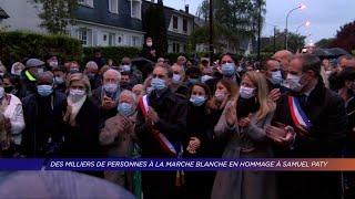 Yvelines | Des milliers de personnes à la marche blanche en hommage à Samuel Paty