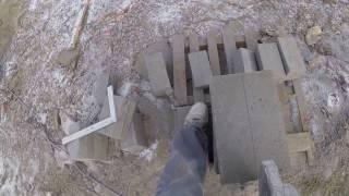 S01E21Jak wybudować dom? Murowanie fundamentów kominowych. Budowa domu 2017